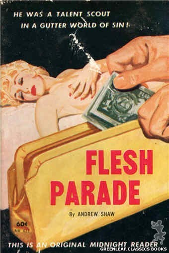 Midnight Reader 1961 MR431 - Flesh Parade by Andrew Shaw, cover art by Unknown (1962)