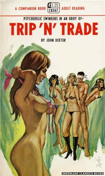 Companion Books CB567 - Trip 'N' Trade by John Dexter, cover art by Ed Smith (1968)