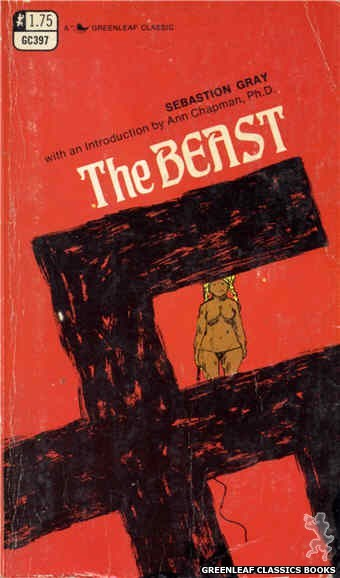 Greenleaf Classics GC397 - The Beast by Sebastion Gray, cover art by Unknown (1969)