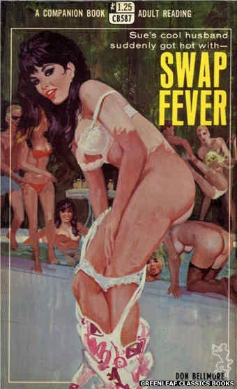 Companion Books CB587 - Swap Fever by Don Bellmore, cover art by Robert Bonfils (1968)