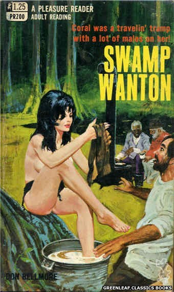Pleasure Reader PR200 - Swamp Wanton by Don Bellmore, cover art by Robert Bonfils (1969)