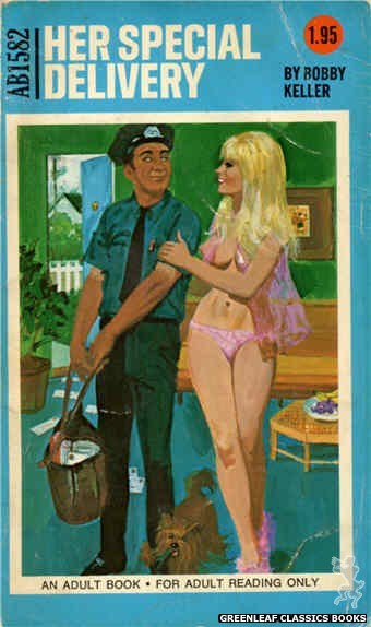 Adult Books AB1582 - Her Special Delivery by Bobby Keller, cover art by Unknown (1971)