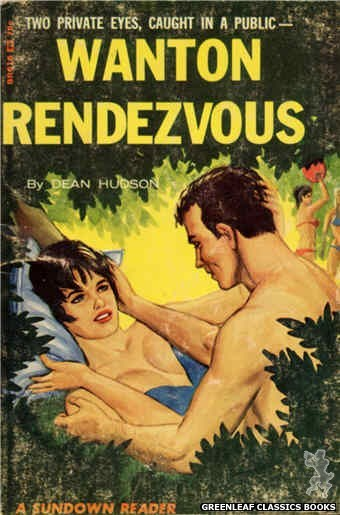 Sundown Reader SR616 - Wanton Rendezvous by Dean Hudson, cover art by Ed Smith (1966)