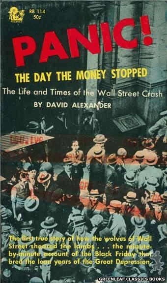 Regency Books RB114 - Panic! by David Alexander, cover art by Mel Pekarsky (1962)