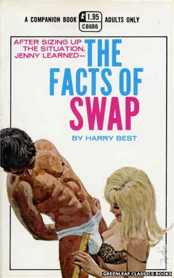 Companion Books CB686 - The Facts Of Swap by Harry Best, cover art by Robert Bonfils (1970)