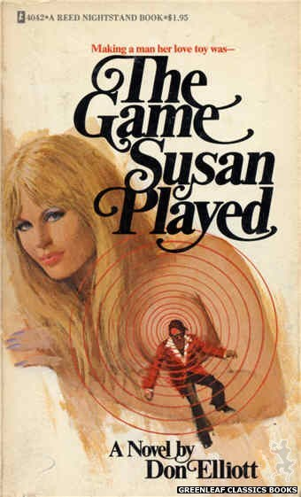 Reed Nightstand 4042 - The Game Susan Played by Don Elliott, cover art by Unknown (1974)