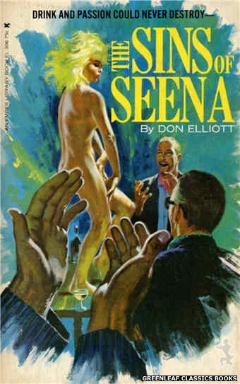 Ember Library EL 306 - The Sins of Seena by Don Elliott, cover art by Robert Bonfils (1965)