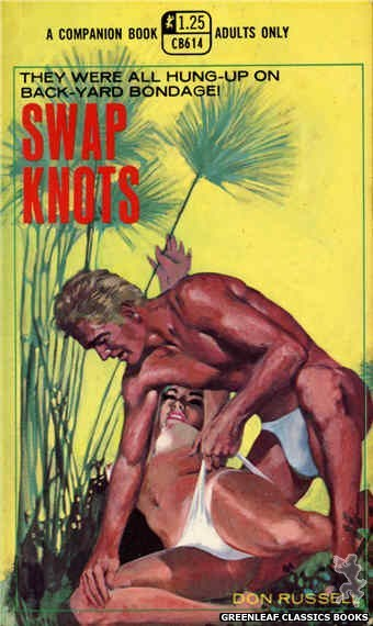 Companion Books CB614 - Swap Knots by Don Russell, cover art by Darrel Millsap (1969)