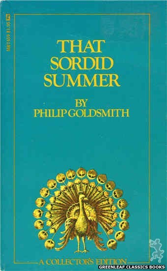 Midnight Reader 1974 MR7459 - That Sordid Summer by Philip Goldsmith, cover art by Text + Decoration (1974)