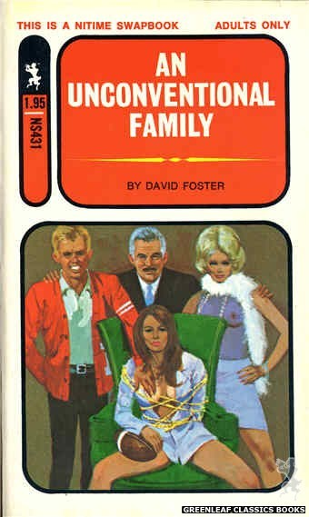 Nitime Swapbooks NS431 - An Unconventional Family by David Foster, cover art by Unknown (1971)