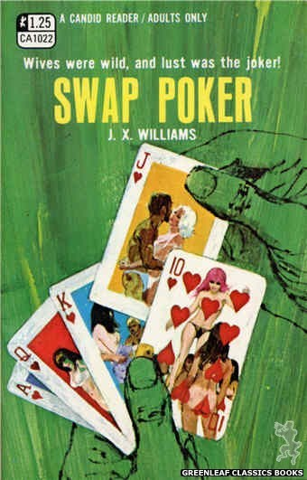 Candid Reader CA1022 - Swap Poker by J.X. Williams, cover art by Darrel Millsap (1970)