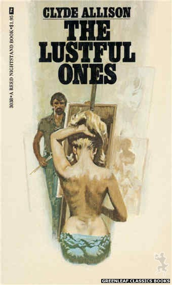 Reed Nightstand 3038 - The Lustful Ones by Clyde Allison, cover art by Robert Bonfils (1973)