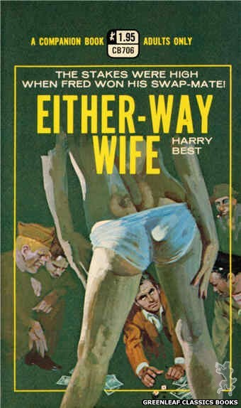 Companion Books CB706 - Either-Way Wife by Harry Best, cover art by Robert Bonfils (1971)