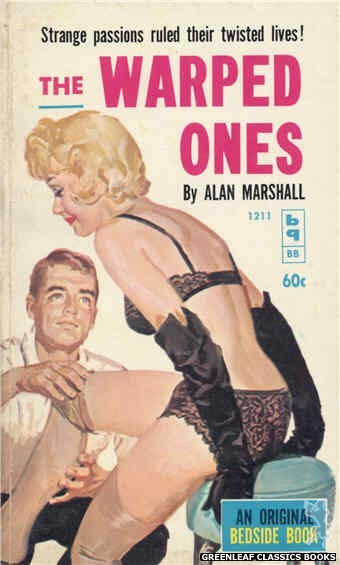 Bedside Books BB 1211 - The Warped Ones by Alan Marshall, cover art by Harold W. McCauley (1961)