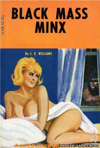 Late-Hour Library LL708 - Black Mass Minx by J.X. Williams, cover art by Unknown (1967)
