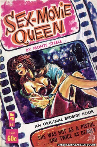 Bedside Books BB 1251 - Sex-Movie Queen by Monte Steele, cover art by Unknown (1963)