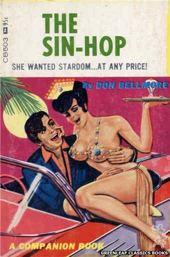 Companion Books CB503 - The Sin-Hop by Don Bellmore, cover art by Tomas Cannizarro (1967)