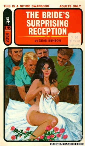 Nitime Swapbooks NS435 - The Bride's Surprising Reception by Dean Benson, cover art by Unknown (1971)