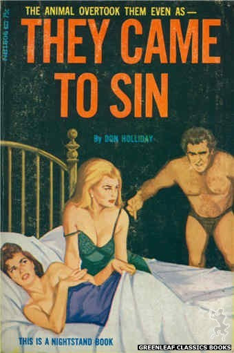 Nightstand Books NB1806 - They Came to Sin by Don Holliday, cover art by Unknown (1966)