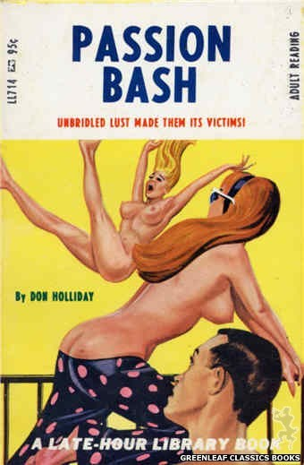 Late-Hour Library LL714 - Passion Bash by Don Holliday, cover art by Tomas Cannizarro (1967)