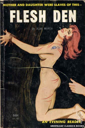 Evening Reader ER703 - Flesh Den by Alan Marsh, cover art by Unknown (1963)