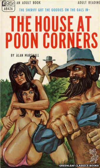 Adult Books AB426 - The House At Poon Corners by Alan Marshall, cover art by Ed Smith (1968)