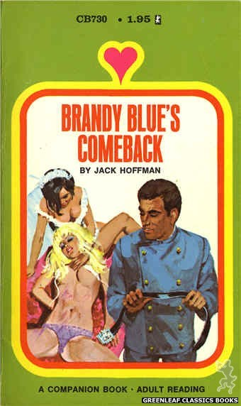Companion Books CB730 - Brandy Blue's Comeback by Jack Hoffman, cover art by Unknown (1971)