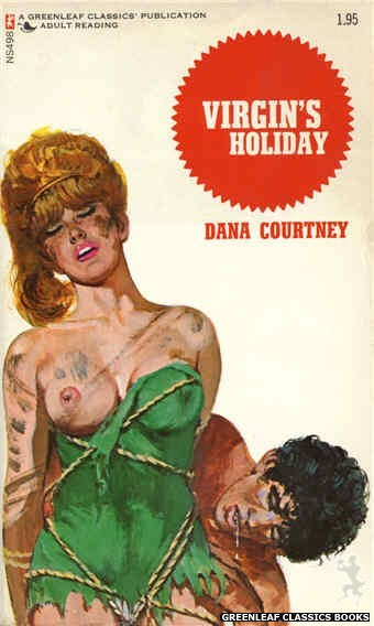Nitime Swapbooks NS498 - Virgin's Holiday by Dana Courtney, cover art by Unknown (1972)