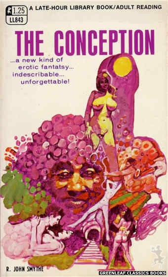 Late-Hour Library LL843 - The Conception by R. John Smythe, cover art by Unknown (1969)