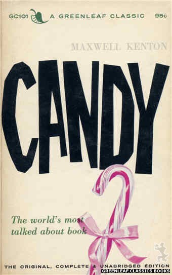 Greenleaf Classics GC101 - Candy by Maxwell Kenton, cover art by Unknown (1965)