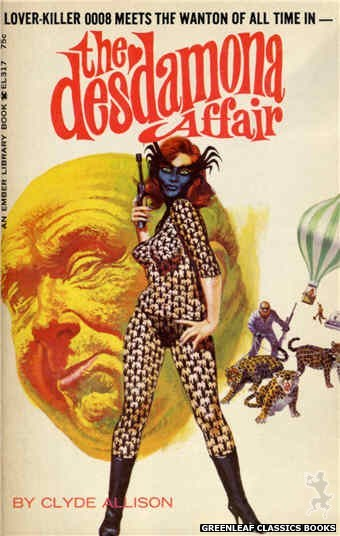 Ember Library EL 317 - The Desdamona Affair by Clyde Allison, cover art by Robert Bonfils (1966)