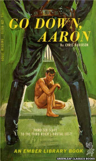 Ember Library EL 376 - Go Down, Aaron by Chris Davidson, cover art by Robert Bonfils (1967)