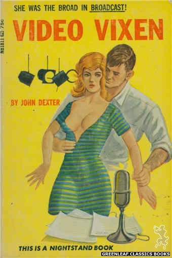 Nightstand Books NB1811 - Video Vixen by John Dexter, cover art by Unknown (1966)