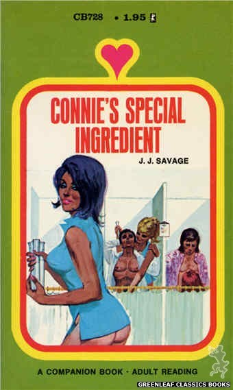 Companion Books CB728 - Connie's Special Ingredient by J.J. Savage, cover art by Unknown (1971)