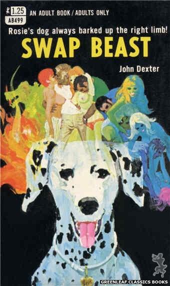 Adult Books AB499 - Swap Beast by John Dexter, cover art by Robert Bonfils (1969)