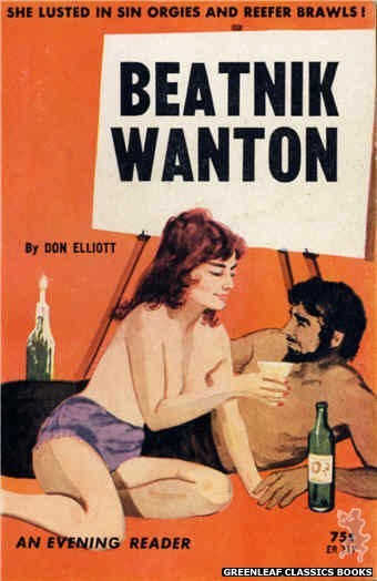 Evening Reader ER717 - Beatnik Wanton by Don Elliott, cover art by Unknown (1964)