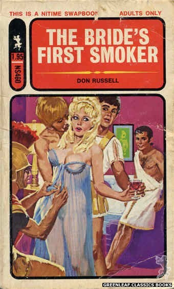 Nitime Swapbooks NS460 - The Bride's First Smoker by Don Russell, cover art by Unknown (1972)