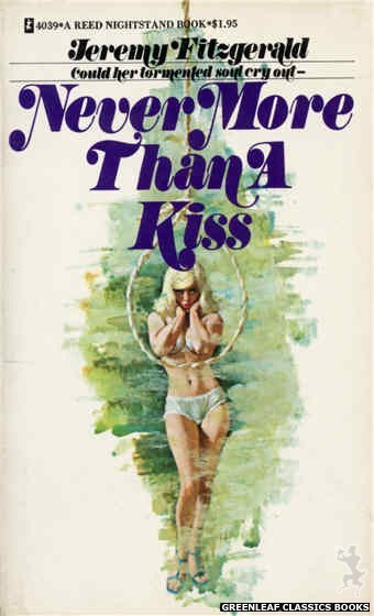 Reed Nightstand 4039 - Never More Than a Kiss by Jeremy Fitzgerald, cover art by Ed Smith (1974)