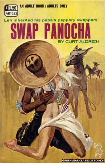 Adult Books AB1533 - Swap Panocha by Curt Aldrich, cover art by Robert Bonfils (1970)