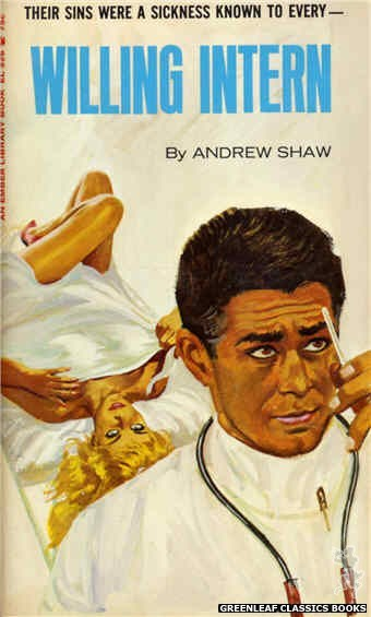 Ember Library EL 326 - Willing Intern by Andrew Shaw, cover art by Robert Bonfils (1966)