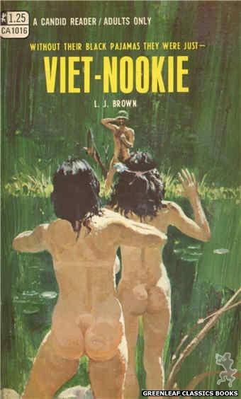 Candid Reader CA1016 - Viet-Nookie by L.J. Brown, cover art by Robert Bonfils (1970)