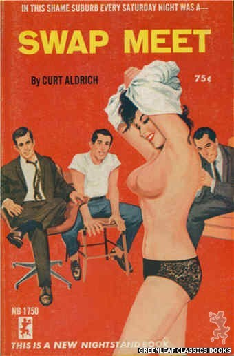 Nightstand Books NB1750 - Swap Meet by Curt Aldrich, cover art by Unknown (1965)