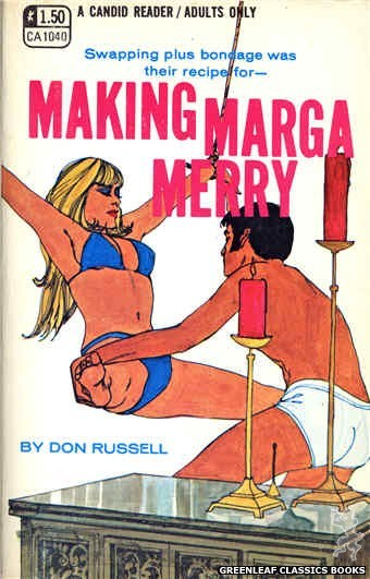 Candid Reader CA1040 - Making Marga Merry by Don Russell, cover art by Robert Kinyon (1970)