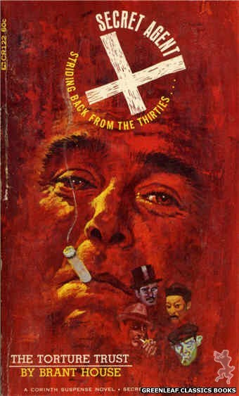 Corinth Regency CR122 - The Torture Trust by Brant House, cover art by Robert Bonfils (1966)