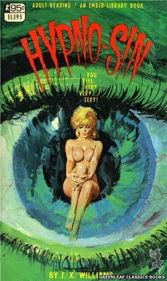 Ember Library EL 395 - Hypno-Sin by J.X. Williams, cover art by Robert Bonfils (1967)