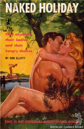 Nightstand Books NB1717 - Naked Holiday by Don Elliott, cover art by Harold W. McCauley (1964)
