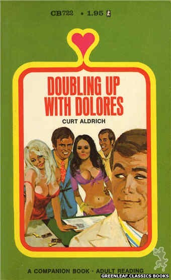 Companion Books CB722 - Doubling Up With Dolores by Curt Aldrich, cover art by Unknown (1971)