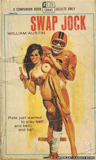 Companion Books CB643 - Swap Jock by William Austin, cover art by Robert Bonfils (1969)