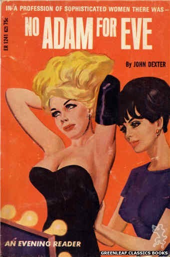 Evening Reader ER1241 - No Adam for Eve by John Dexter, cover art by Tomas Cannizarro (1966)