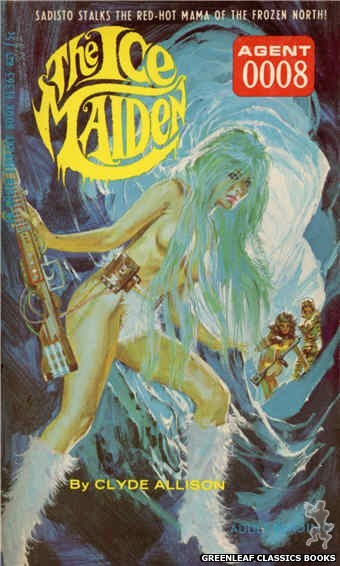 Ember Library EL 365 - The Ice Maiden by Clyde Allison, cover art by Robert Bonfils (1967)